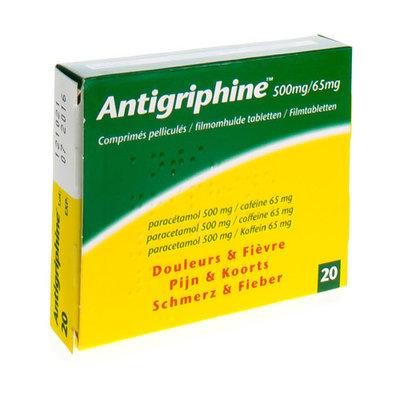 ANTIGRIPHINE COMP 20 X 500 MG