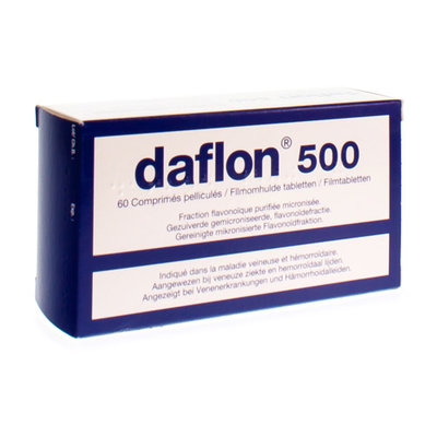 DAFLON 500 COMP 60X500MG