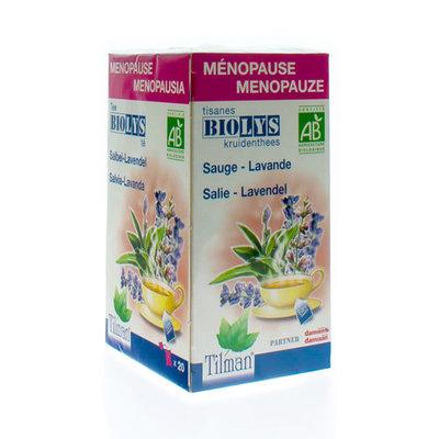 BIOLYS SALIE - LAVENDEL BIO TEA BAGS 20