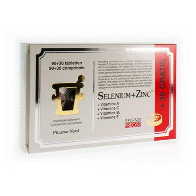 PHARMA NORD SELENIUM+ZINC COMP 120 (90+30)