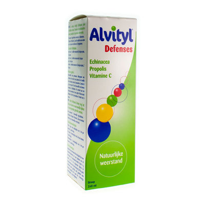 ALVITYL DEFENSES SIROOP FLACON 240ML
