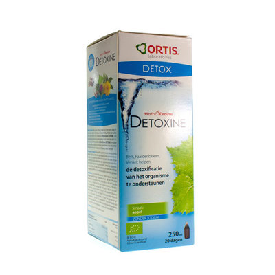 ORTIS METHODDRAINE DETOXINE APPEL Z/FUCUS BIO250ML
