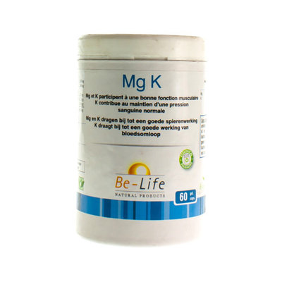 MG-K MINERALS BE LIFE NF GEL 60