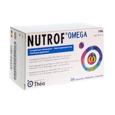NUTROF OMEGA VOEDINGSUPPL.OGEN CAPS 30