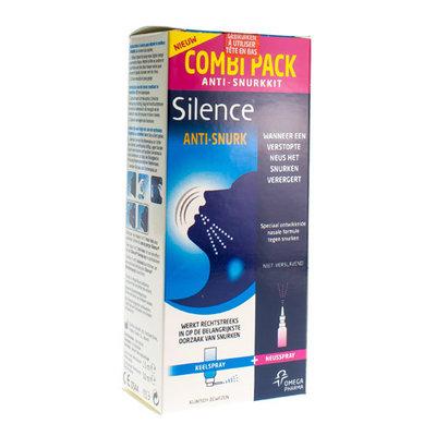 SILENCE ANTI SNORING KIT NF 15+50ML
