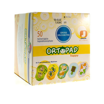 ORTOPAD HAPPY JUNIOR OOGKOMPRES 50 70131