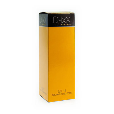 D-IXX LIQUID DRUPPELS 50ML
