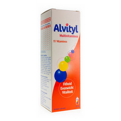 ALVITYL MULTIVITAMINEN DRINKBARE OPLOSSING FLACON 150ML