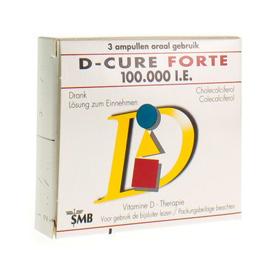 D CURE FORTE 100.000 UI AMP 3