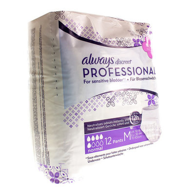 ALWAYS DISCREET PROFESSIONAL PANTS NORMAL M 12