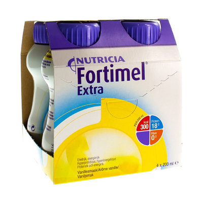 FORTIMEL EXTRA VANILLE NF 4X200ML