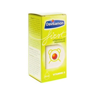 DAVITAMON FIRST VIT D AQUOSUM 25ML