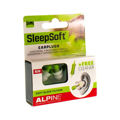 ALPINE SLEEPSOFT OORDOPPEN NEW 1 PAAR