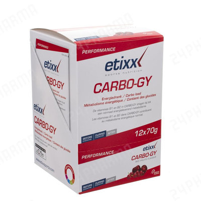 ETIXX CARBO GY POWDER 12X70G