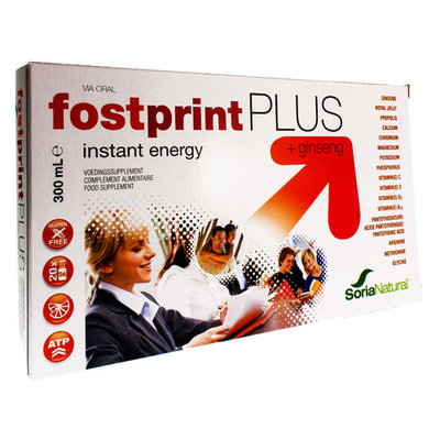 SORIA FOST PRINT PLUS DRINKBARE AMP 20 X 15ML