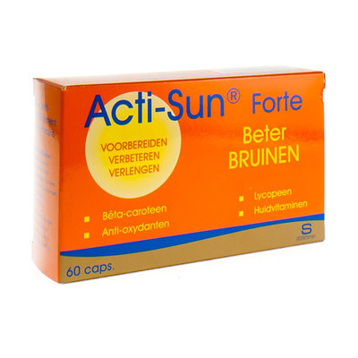 ACTI-SUN FORTE CAPS 60