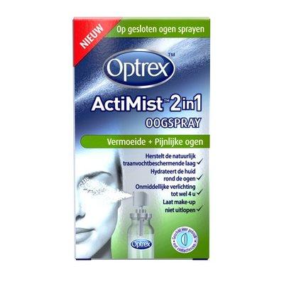 OPTREX ACTIMIST OOGSPRAY VERMOEIDE EN PIJNLIJKE OGEN 10ML