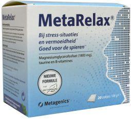 METARELAX NF ZAKJE 20 21861 METAGENICS