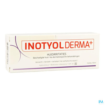 INOTYOL DERMA HUIDIRRITATIES CREME TUBE 40ML