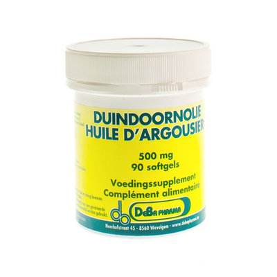 DUINDOORN OLIE SOFTGEL 90X500MG DEBA