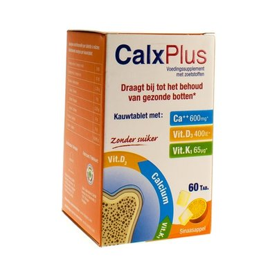 CALX PLUS SINAAS 60 tabletten