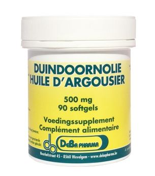 DUINDOORN OLIE SOFTGEL 180X500MG DEBA