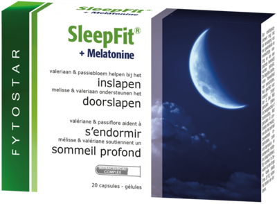 FYTOSTAR SLEEP FIT + MELATONINE CAPS 20