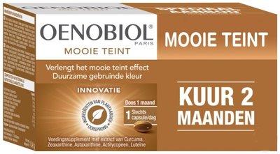 OENOBIOL MOOIE TEINT CAPS 2X30 CAPS PROMO KUUR 2 MAAND