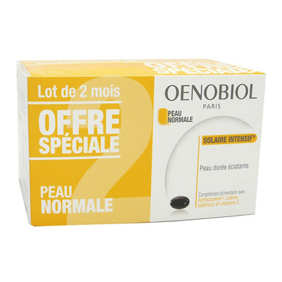 OENOBIOL SOLAIRE ZON INTENSIF 2X30 CAPS PROMO KUUR 2 MAAND