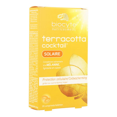 BIOCYTE TERRACOTTA COCKTAIL SOLAIRE COMP 30
