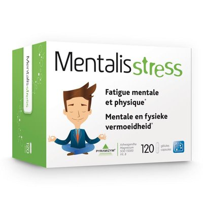 MENTALIS STRESS CAPS 120