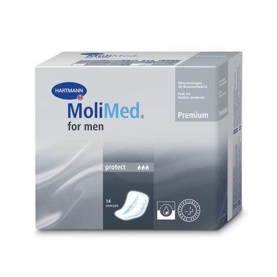 MOLIMED FOR MEN PROTECT INLEGLUIER 14 STUKS
