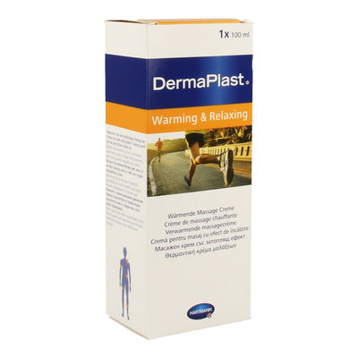 DERMAPLAST CREME MASSAGE WARMING & RELAXING 100ML