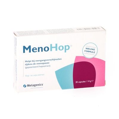 MENOHOP 30 CAPS 30 7672 METAGENICS