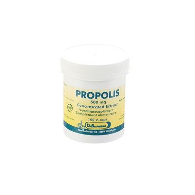 PROPOLIS CAPS 100X500MG DEBA