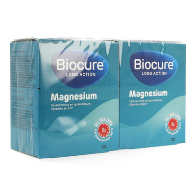 BIOCURE LONG ACTION MAGNESIUM DUOPACK COMP 90+30