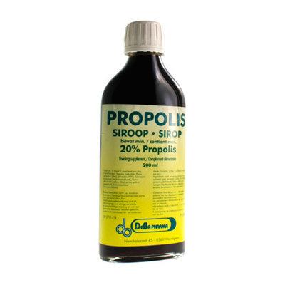 PROPOLIS SIROOP 20% 200ML DEBA