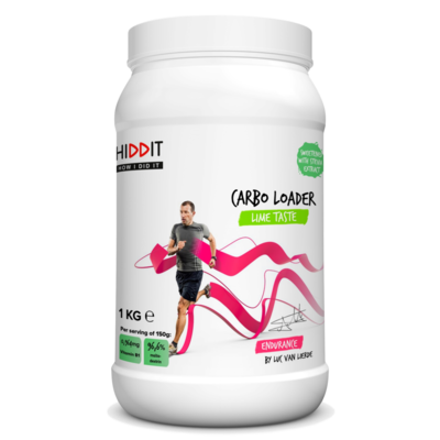 HIDDIT LUC VAN LIERDE CARBO LOADER LIME PDR 1KG