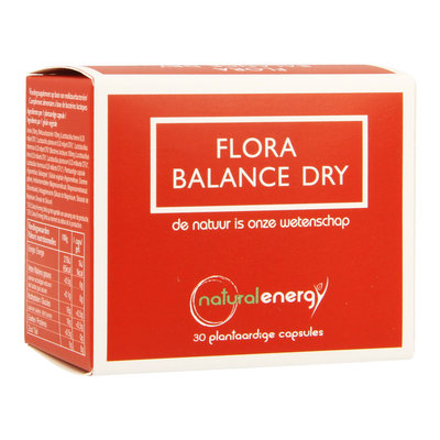 FLORA BALANCE NATURAL ENERGY DRY 30 V-CAPS