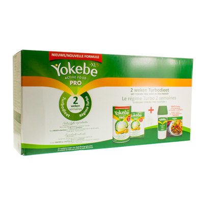 YOKEBE PRO BY XLS VANILLE 2 WEKEN TURBO