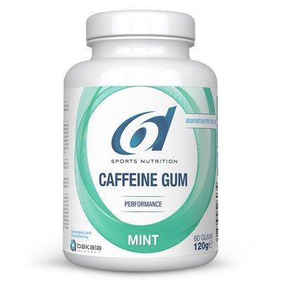 6D CAFFEINE GUM MINT 60 KAUWGOMMEN
