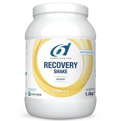 6D RECOVERY SHAKE VANILLA - VANILLE 1KG