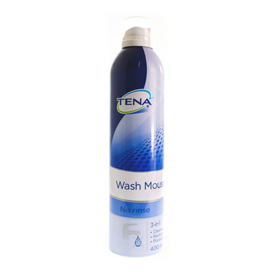 TENA WASH MOUSSE NF 400ML