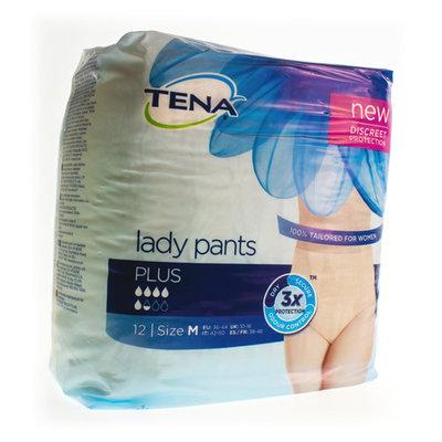 TENA LADY PANTS PLUS MEDIUM 12