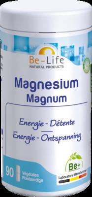 MAGNESIUM MAGNUM MINERALS BE LIFE NF GEL 90