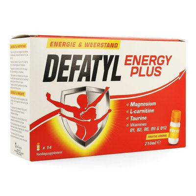 DEFATYL ENERGY PLUS FLACON 14 x 15ML