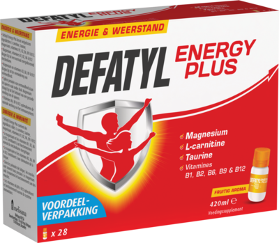 DEFATYL ENERGY PLUS 28 FLACONS