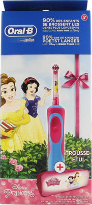ORAL B TANDENB VITALITY KIDS PRINCESS + CASE