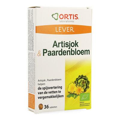 ORTIS ARTISJOK - PAARDEBLOEM BIO COMP 2X18