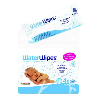 WATER WIPES DOEKJES BABY ECONOMY PACK 4X60